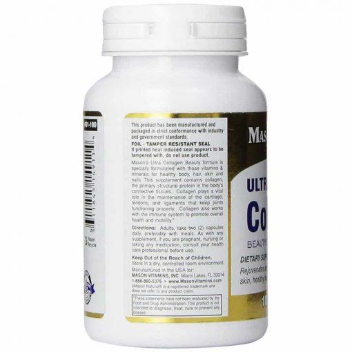 Viên uống bổ sung collagen Mason Ultra Collagen 100 viên