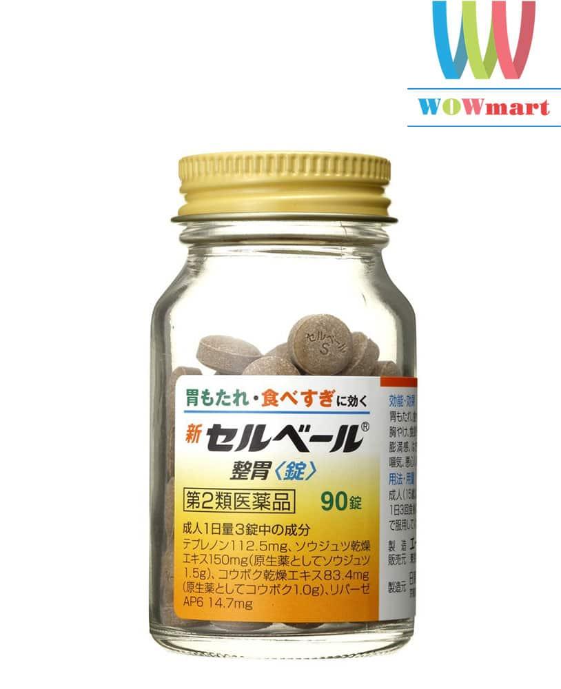 Viên uống hỗ trợ điều trị bệnh đau dạ dày Sebuberu Eisai từ Nhật Bản 90 viên