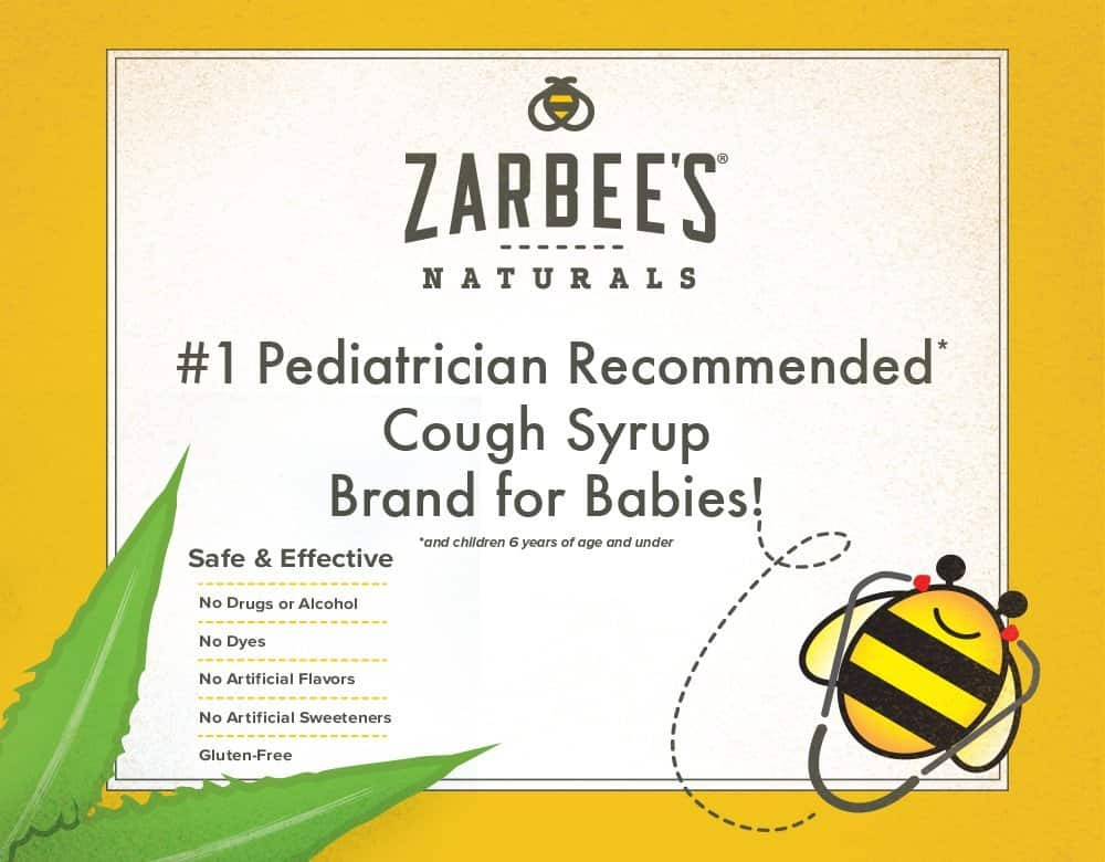 zarbees baby cough syrup mucus