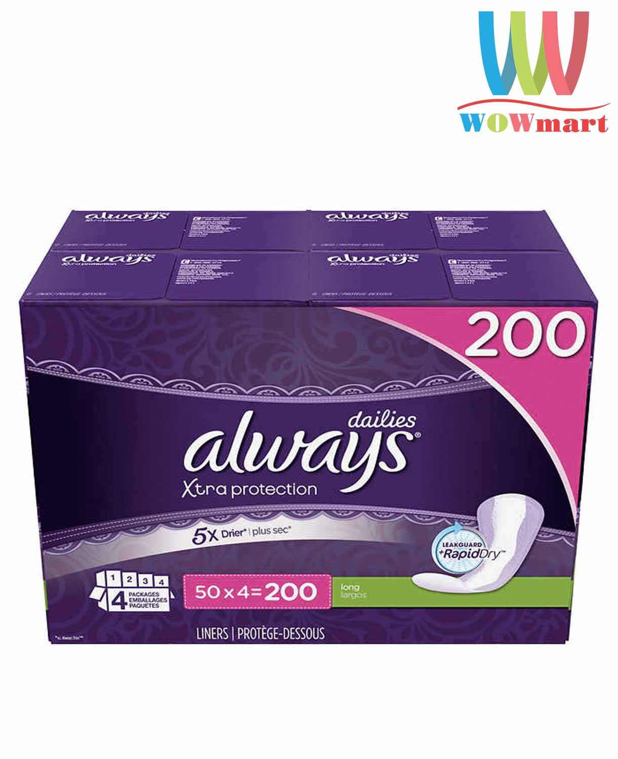 bang-ve-sinh-hang-ngay-always-dailies-xtra-protection-200-mieng