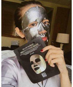 Mặt nạ vảy rắn bạc của Hàn Quốc Lisu Silver Mask Hộp 5 miếng