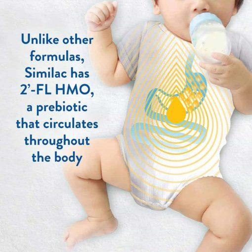 Sữa bột Similac cho bé từ 0-12 tháng Similac Pro-Advance Non GMO-HMO 964g