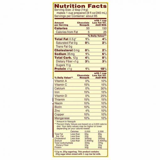 Sữa Nestle hương socola Nestle Nesquik Chocolate 1kg