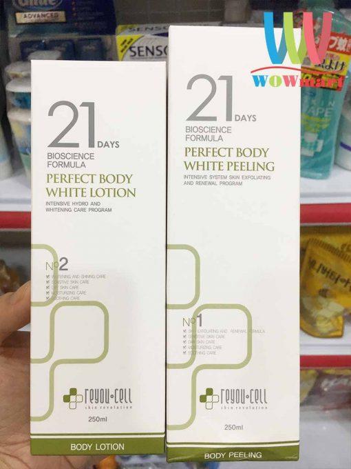 bo-doi-duong-trang-toan-reyou-cell-21-days-perfect-body-white-peeling-lotion-250ml-x2-1