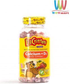 keo-gau-bo-sung-canxi-cho-tre-em-lil-critter-calcium-d3-gummy-bears-150-vien