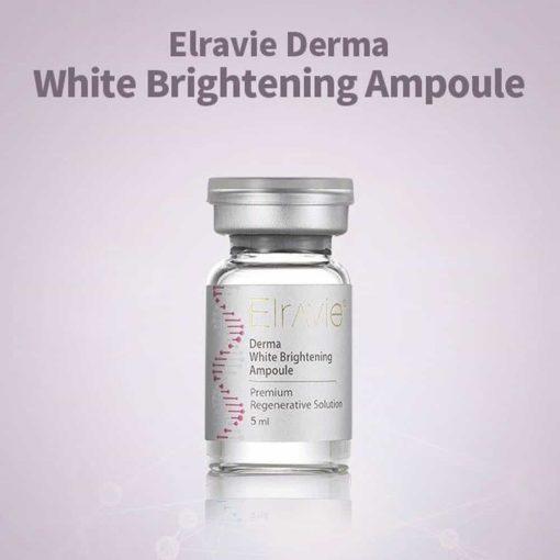 Serum tái tạo da Elravie Hàn Quốc Elravie Derma White Brightening Ampoule 5ml x 10 ống
