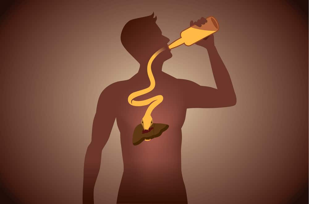 snake out alcohol bottle