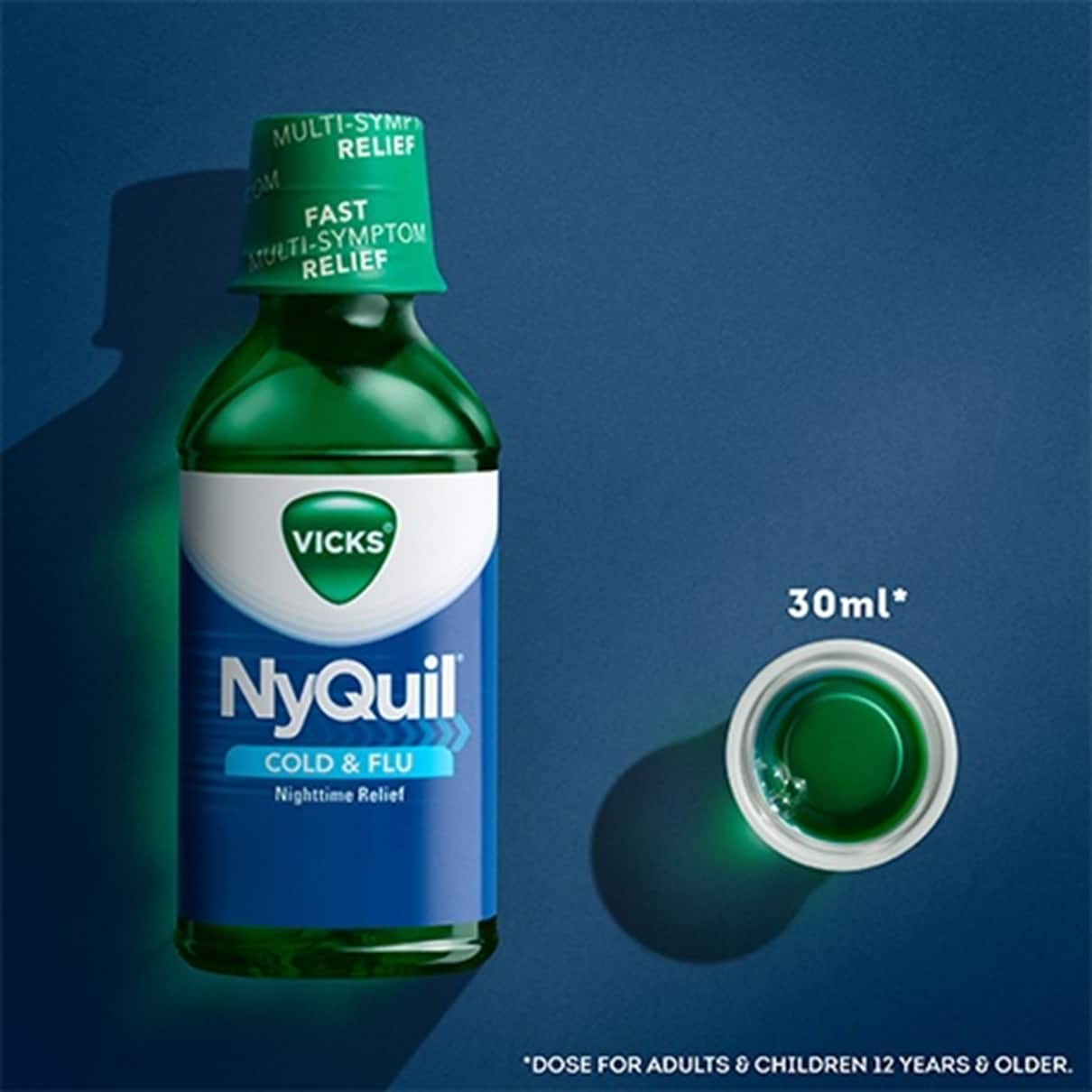vicks nyquil cold flu nighttime relief 2