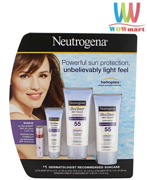 kem-chong-nang-neutrogena-ultra-sheer-sunscreen-set-4-san-pham
