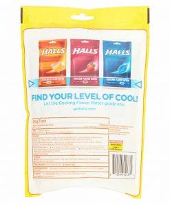 Kẹo Halls trị ho, thông cổ, mát lạnh Halls Triple Soothing Action 160 viên x2
