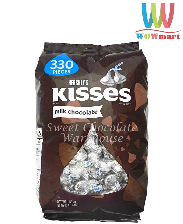 socola-kisses-hersheys-kisses-milk-chocolate-330pcs-1-58kg-2018