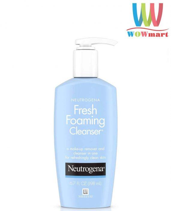 sua-rua-mat-tay-trang-neutrogena-fresh-foaming-cleanser-198ml