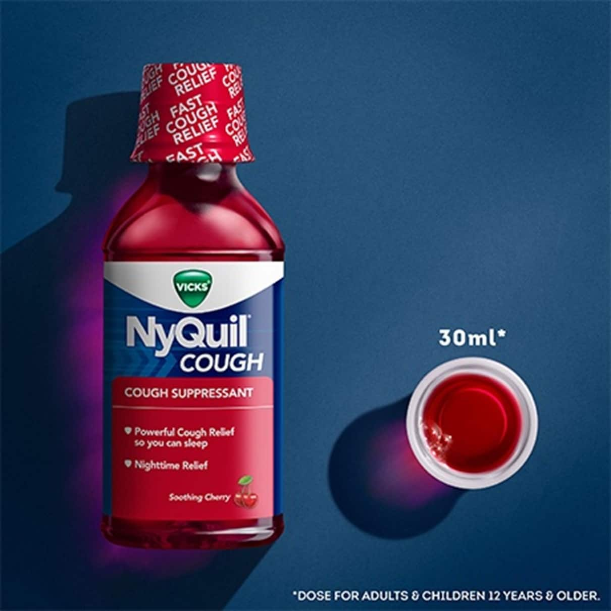 vicks nyquil cough suppressant