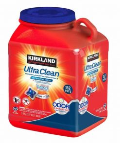 Viên giặt quần áo Kirkland kháng khuẩn Kirkland Signature Ultra Clean 152 Pacs