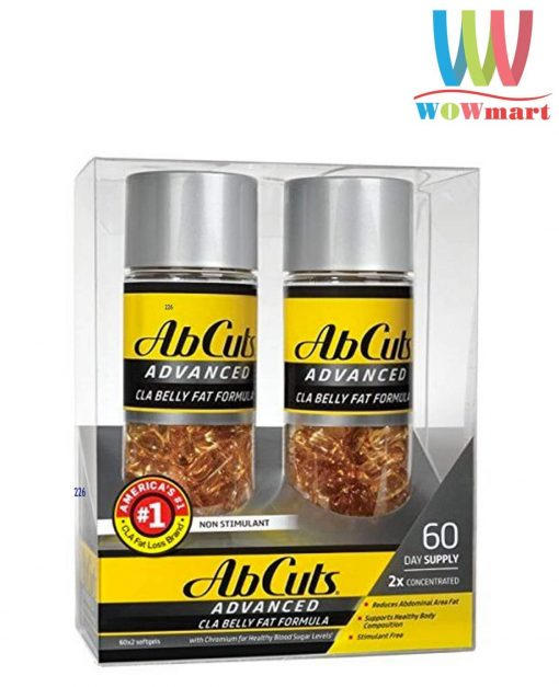 vien-uong-giam-mo-bung-abcuts-advanced-cla-belly-fat-formular