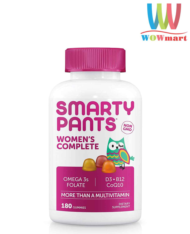 keo-bo-da-vitamin-toan-dien-danh-cho-phu-nu-smarty-pants-womens-complete-180-gummies