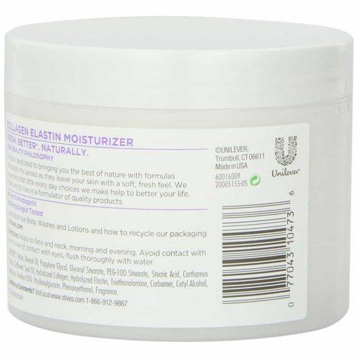Kem dưỡng ẩm St.Ives Timeless Skin Collagen 283g