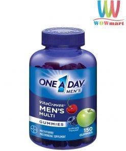 keo-deo-da-vitamin-danh-cho-nam-one-day-mens-vitacraves-gummies-150-vien