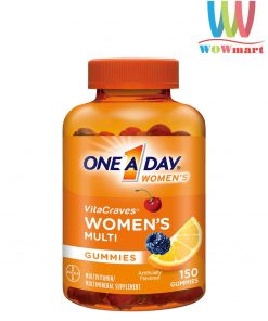 keo-deo-da-vitamin-danh-cho-nu-one-day-women-vitacraves-gummies-150-vien