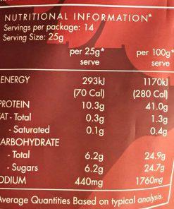 Khô bò Úc Ngũ vị hương Mariani Beef Jerky Five Spice 350g