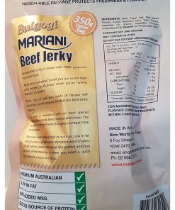Kho bo Uc vi BBQ Han Quoc Bulgogi Mariani Beef Jerky Goi 350g