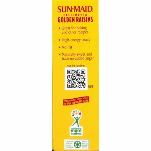 Nho khô hộp vàng Sun-Maid Golden Raisins 425g