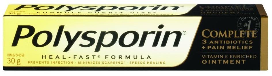 Thuốc bôi làm mờ sẹo Polysporin Heal Fast Formula 30g