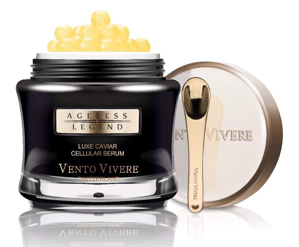 Serum dưỡng da cao cấp trứng cá tầm Thụy Sĩ Vento Vivere Luxe Caviar