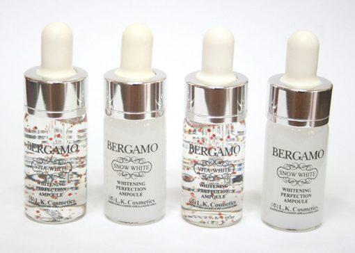 Tinh chất Bergamo Luxury Gold Caviar Vitamin Hộp 4 ống