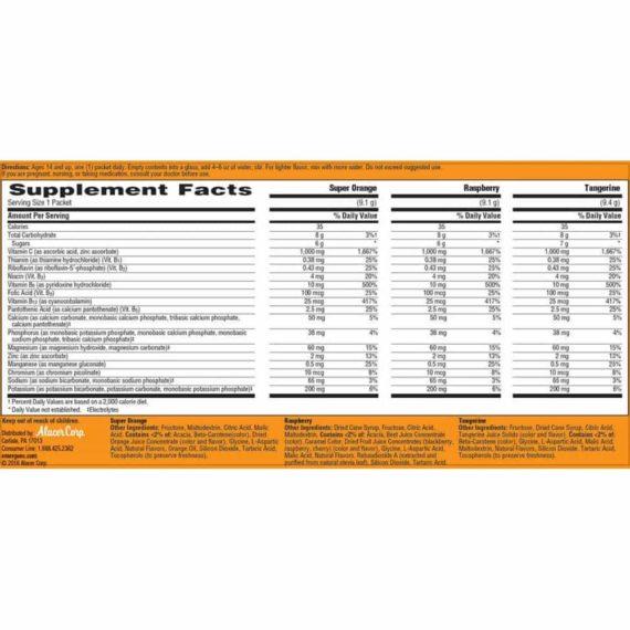 Bột hòa tan bổ sung Vitamin C tăng cường sức đề kháng Emergen-C 90 gói