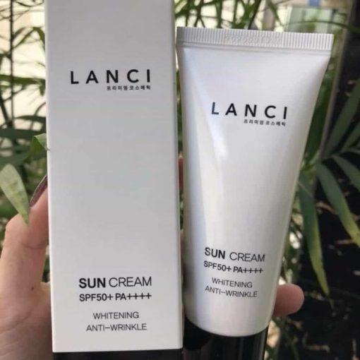 Kem chống nắng Lanci Sun Cream SPF 50+ Whitening Hàn Quốc