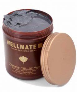 Kem ủ tóc siêu bóng mượt đặc trị tóc hư tổn Wellmate Vegetative Peat Hair Mask 1000ml