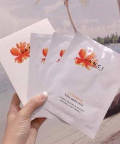 Mặt nạ cấp ẩm Lanci Vitamin Total Mask Pack Hàn Quốc