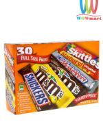 M&M Mars Chocolate Variety Pack 30 gói 1590.1g