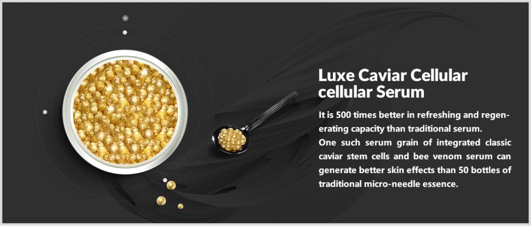 Serum dưỡng da cao cấp Thụy Sĩ trứng cá tầm Ageless Legend Vento Vivere Luxe Caviar 30g
