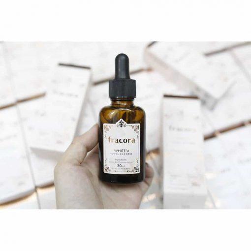 Serum giúp da căng mịn từ Nhật Bản Fracora White'st Enrich 30ml