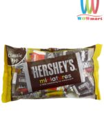 socola-hershey-mini-hersheys-miniatures-chocolate-340g