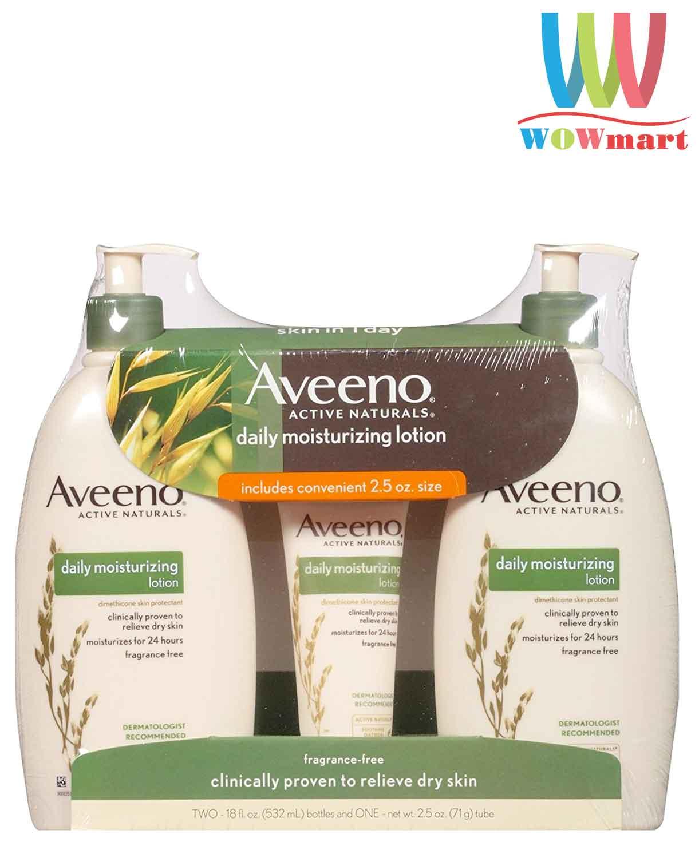 sua-duong-aveeno-daily-moisturizing-lotion-532ml-x2-tube-71g