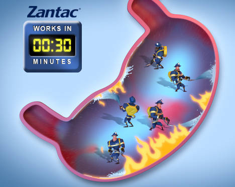 Viên uống trị đau bao tử Zantac 150mg Maximum Strength 50 viên