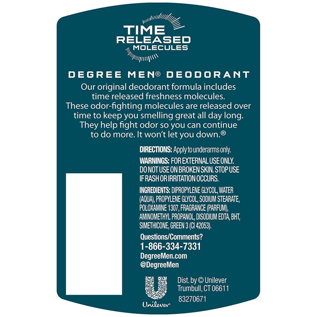 Lăn khử mùi Degree Men Dry Protection Cool Rush 48 Hour Antiperspirant 76g