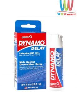 Chai xịt trị xuất tinh sớm Dynamo Delay Male Genital Desensitizer Spray 22.2ml