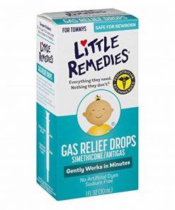 Siro trị đầy hơi, nôn trớ dành cho trẻ sơ sinh Little Remedies Gas Relief Drops 30ml