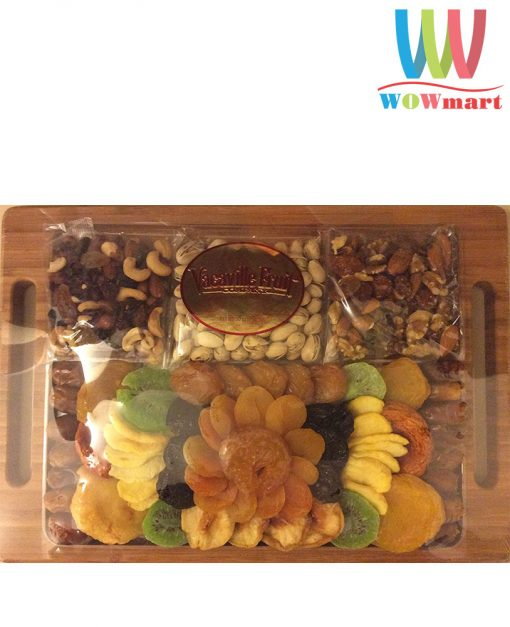 Khay trái cây sấy khô Vacaville Fine Dried Fruit & Nut 850.5g