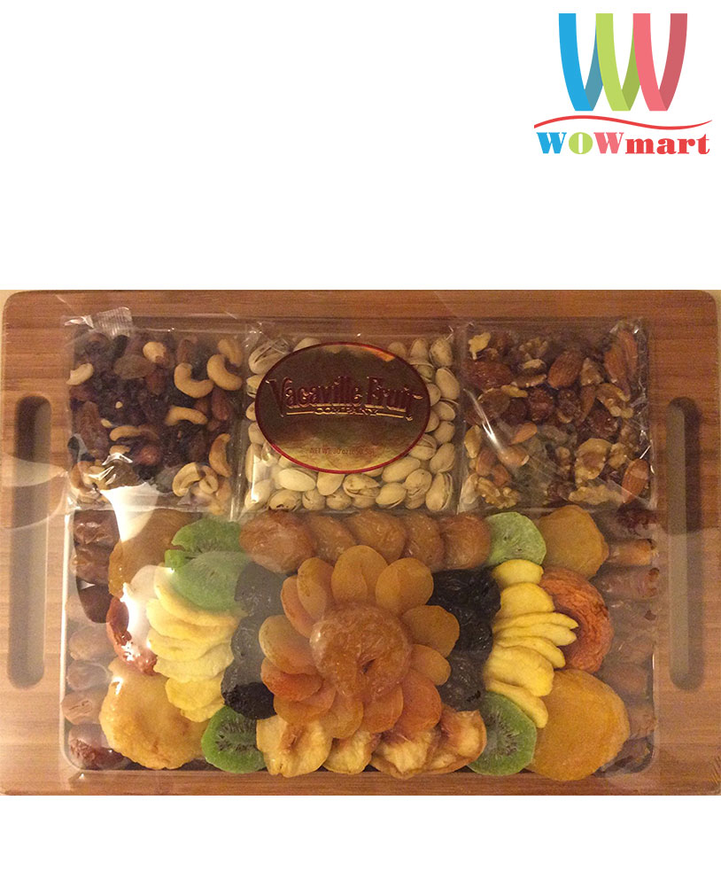 Khay các loại quả&hạt sấy khô Vacaville Fine Dried Fruit & Nut 850.5g