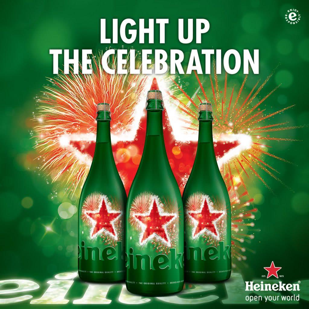 Bia Heineken Magnum của Hà Lan chai lớn 1.5l