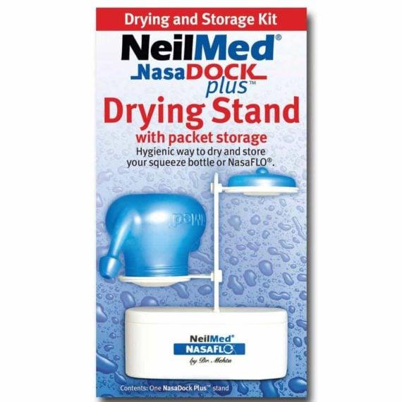 Chân đế và hộc đựng cho bộ nước muối rửa mũi Neilmed NasaDock