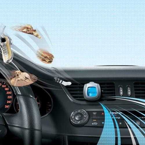 Nước hoa xe hơi Febreze Car Linen & Sky (màu xanh) set 5 cái x2ml