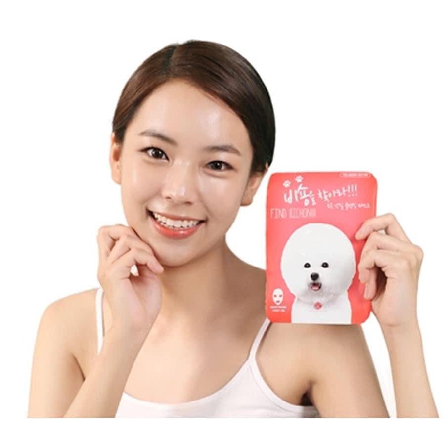 Mặt nạ sủi bọt Find Bichon Skin Barista thải độc da của Hàn Quốc 20g x10 miếng