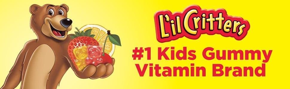 Kẹo dẻo bổ sung chất xơ cho bé L'il Critter Fiber 90 Bear Gummies