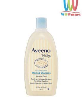 sua-tam-goi-cho-aveeno-baby-wash-shampoo-532ml